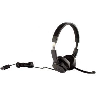 Lenovo 100 Stereo USB Headset Head-Band rotatable Microphone Noise Cancellation