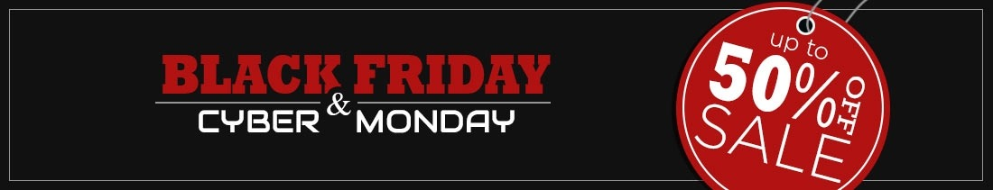 Black Friday - Cyber Monday 2017