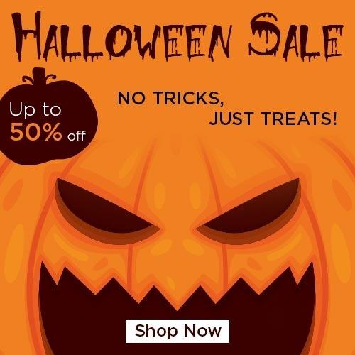 Halloween No Tricks, Just treats!